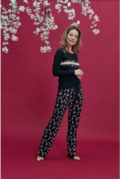 Pyjama lange mouw 37140 Mt S, L