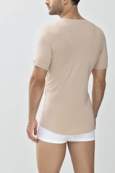 Business T-shirt diepe v-hals Dry Cotton 46038 - huid-2