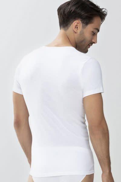 T-shirt ronde hals Casual Cotton 49002 - wit-2