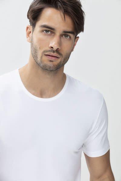 T-shirt ronde hals Dry Cotton 46002 - wit-1