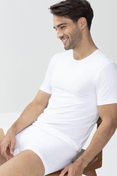 T-shirt ronde hals Dry Cotton 46002 - wit-3