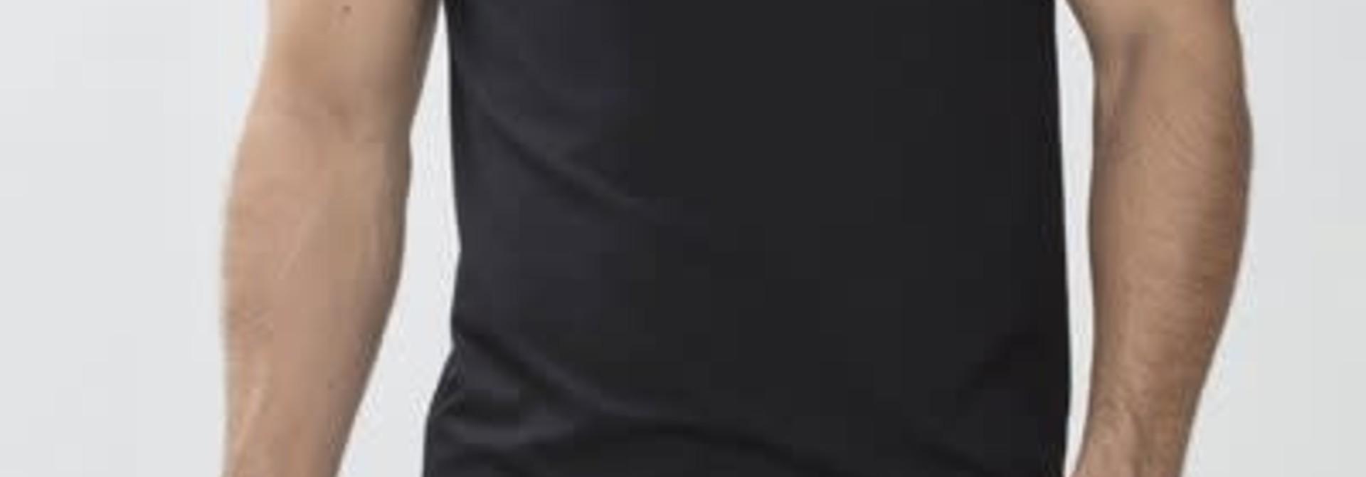 T-shirt ronde hals Dry Cotton 46002 - zwart