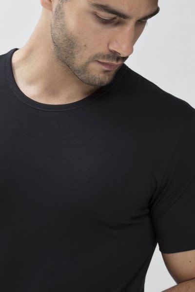 T-shirt ronde hals Dry Cotton 46002 - zwart-3