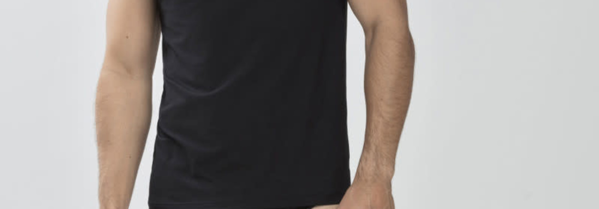 Tanktop Dry Cotton 46037 - zwart
