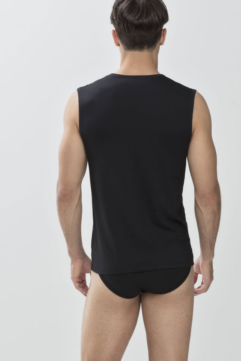 Tanktop Dry Cotton 46037 - zwart-2