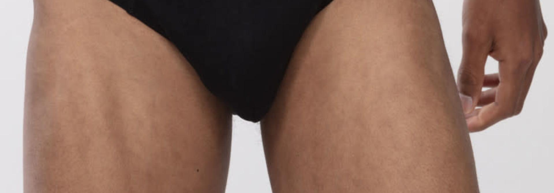 Slip Casual Cotton 49019 - zwart