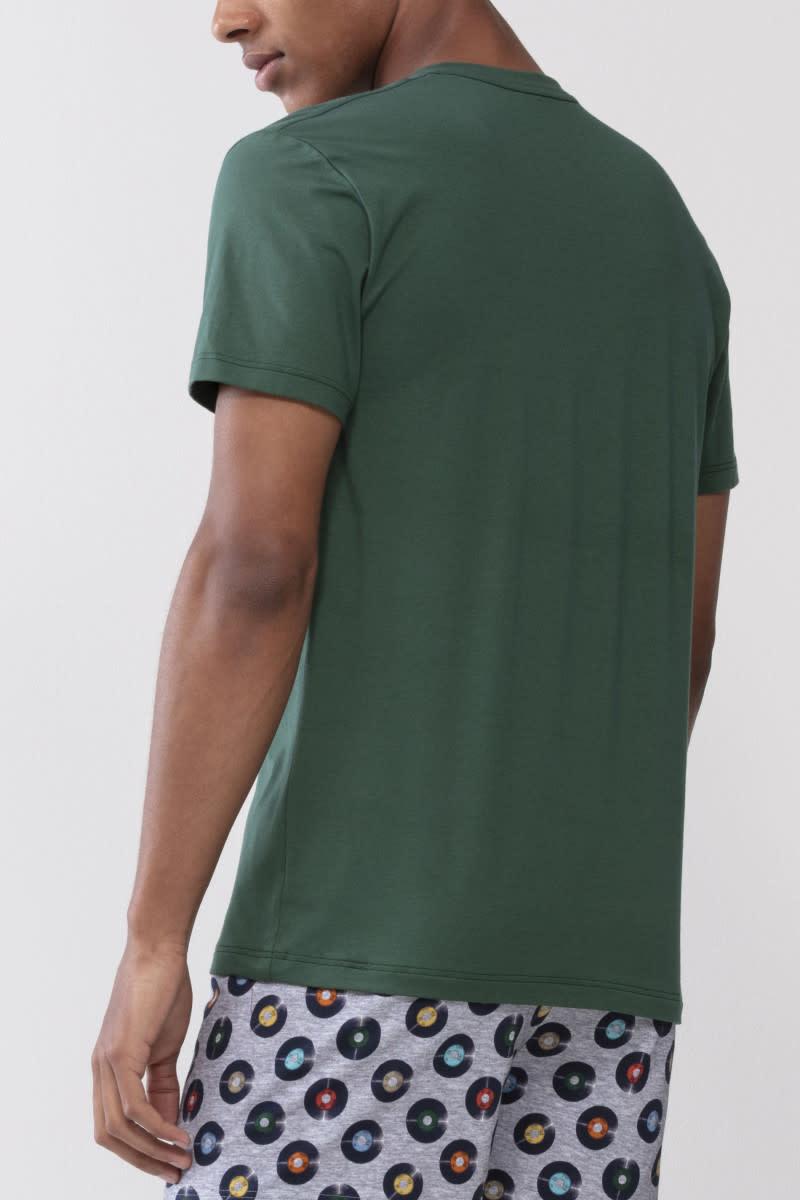 T-shirt ronde hals Dry Cotton 46502 - groen-2