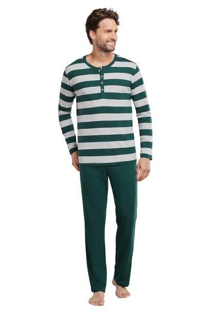 Pyjama lange mouw 159631 - groen