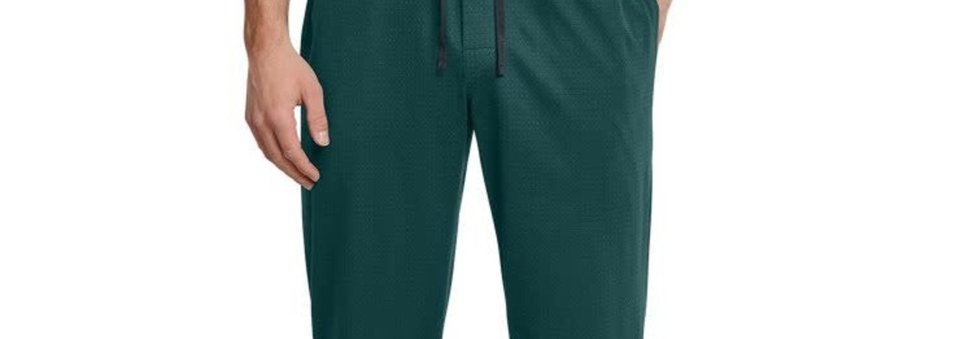 Pyjamabroek lang Mix & Match 163839 - donkergroen