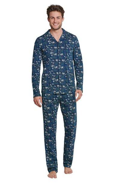 Pyjama lange mouw met knopen 171814