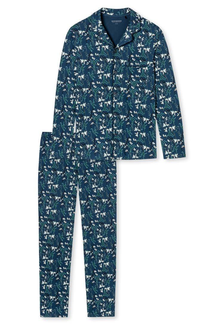 Pyjama lange mouw met knopen 171814 mt. 50-3