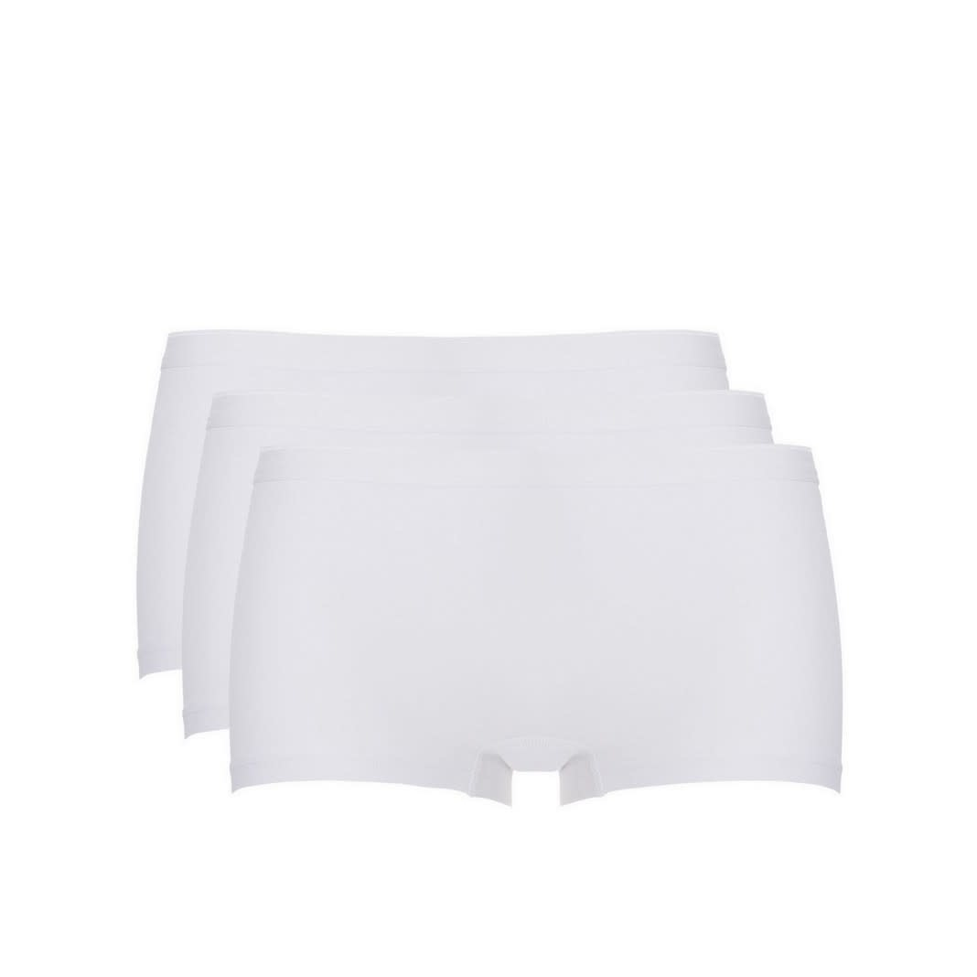 Short Basic 3-Pack 30190 - wit-1
