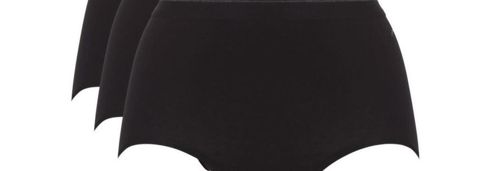 Maxi Basic 3-Pack 30192 - zwart