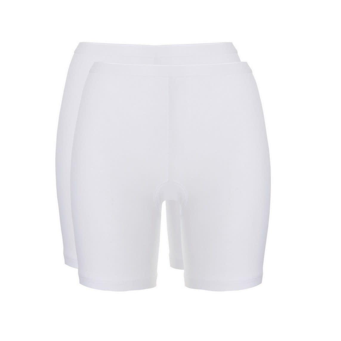 Short Long Basic 2-Pack 30196 - wit-1