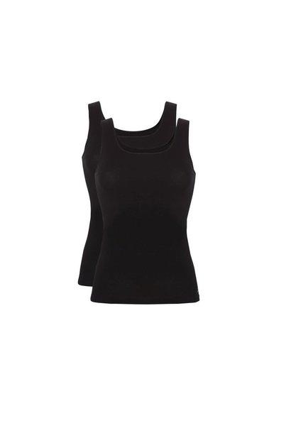 Hemd Basic 2-Pack 30197 - zwart