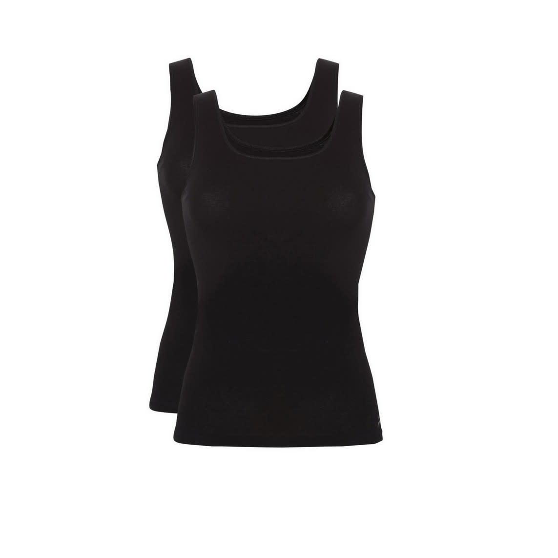 Hemd Basic 2-Pack 30197 - zwart-1