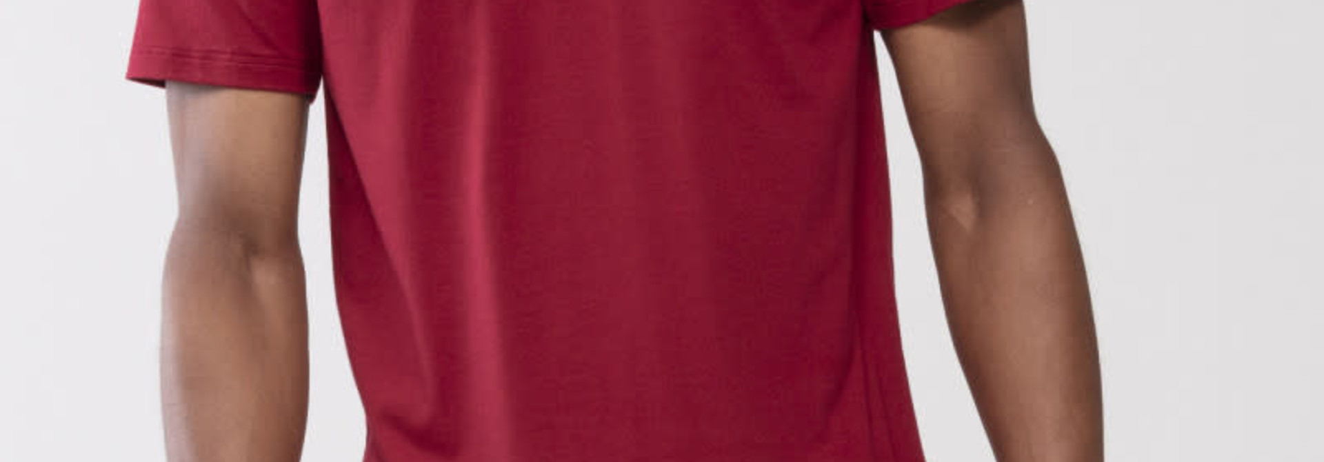 T-shirt ronde hals Dry Cotton 46502 - rood