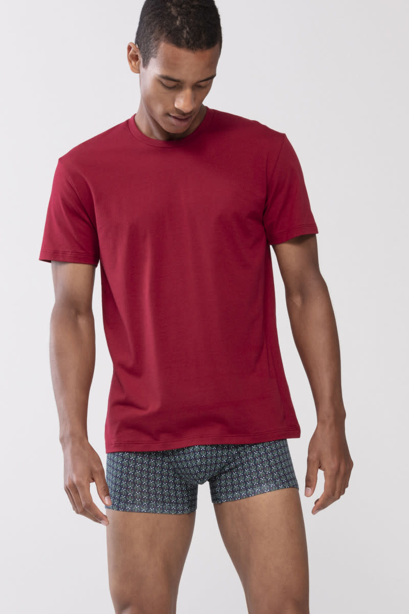 T-shirt ronde hals Dry Cotton 46502 - rood-1
