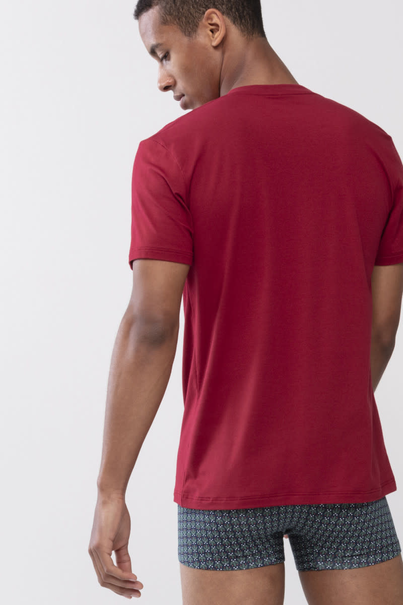 T-shirt ronde hals Dry Cotton 46502 - rood-2