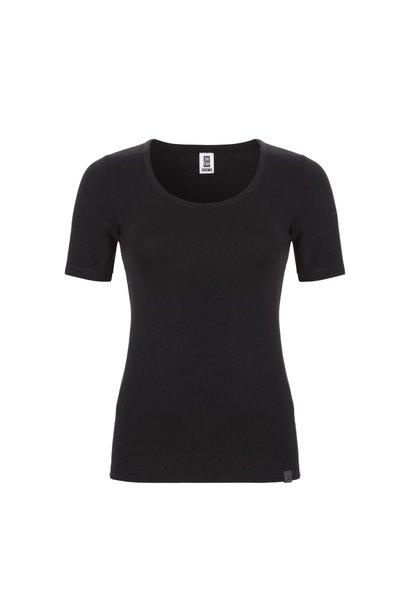Thermo dames T-shirt 30239 - zwart