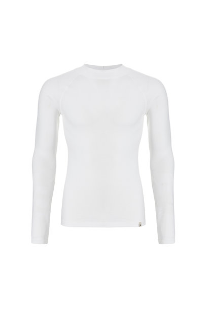Thermo heren T-shirt lange mouw 30243 - wit