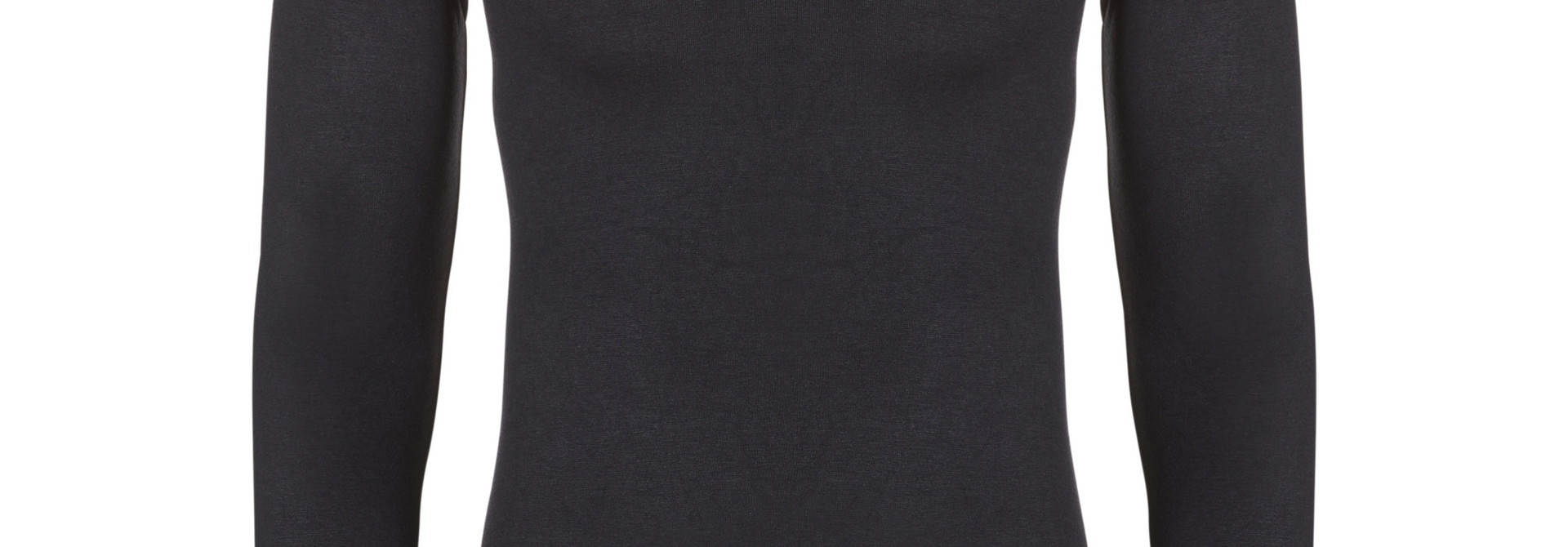 Thermo T-shirt lange mouw 30243 - zwart