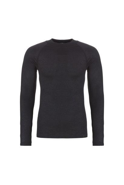 Thermo heren T-shirt lange mouw 30243 - zwart