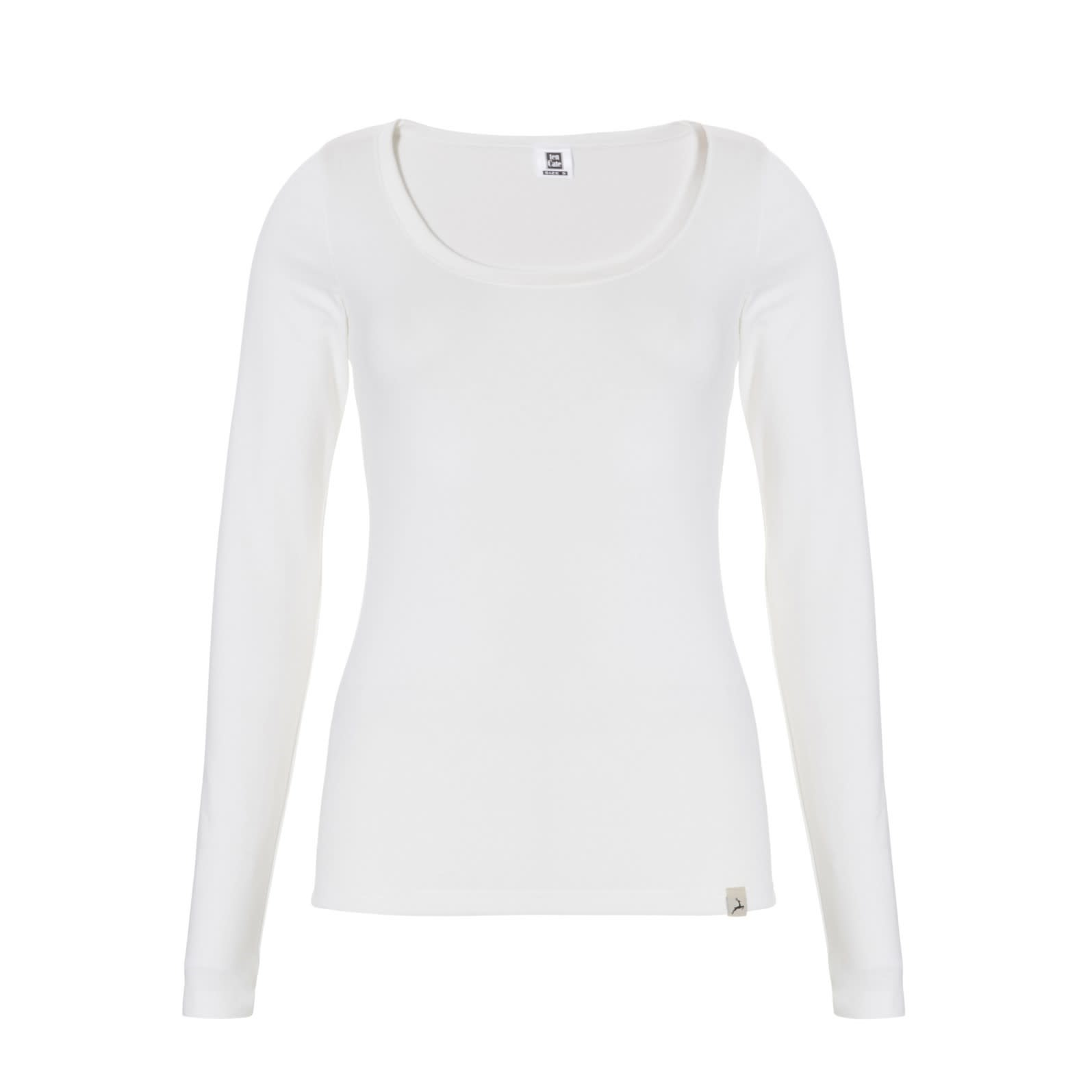 Thermo T-shirt met lange mouw 30241 - wit-1