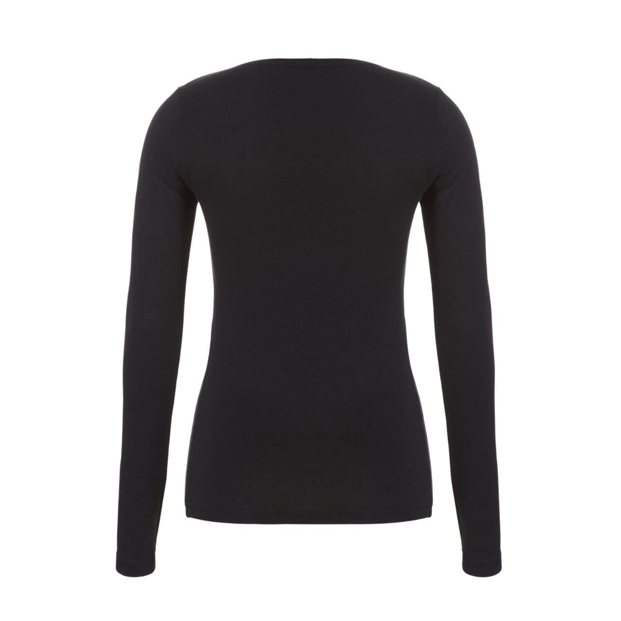 Thermo T-shirt met lange mouw 30241 - zwart-2