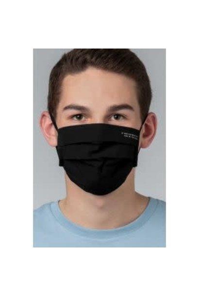 Heren mondmasker 39162 - zwart