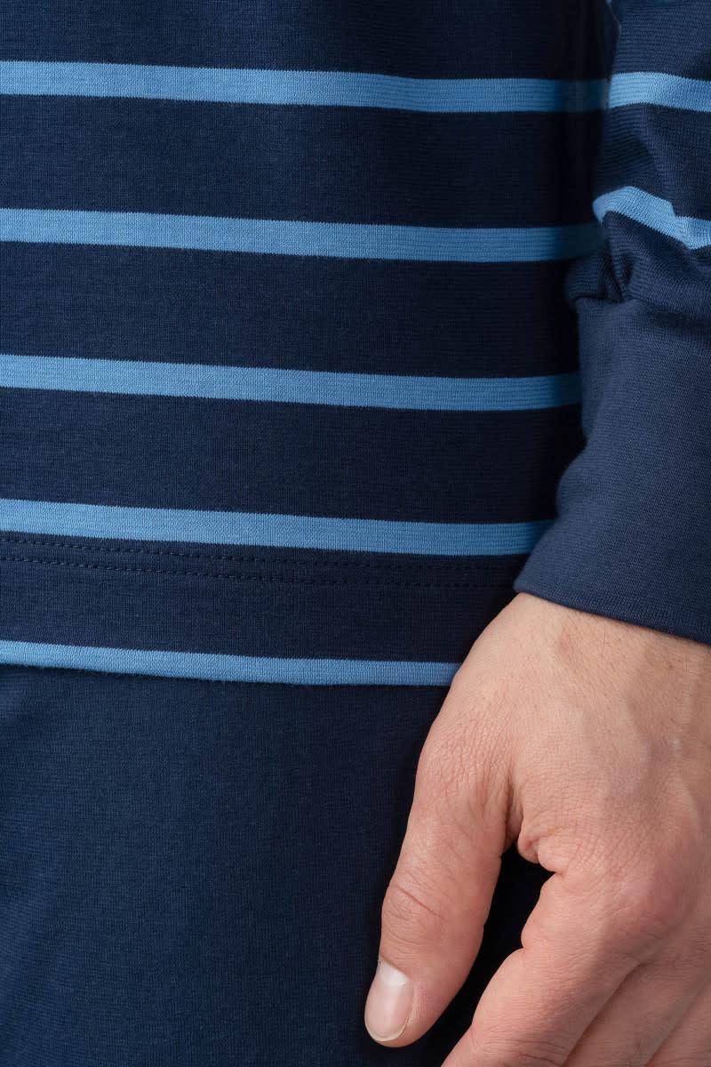 Pyjama lange mouw met boorden  Stratford 11289-3