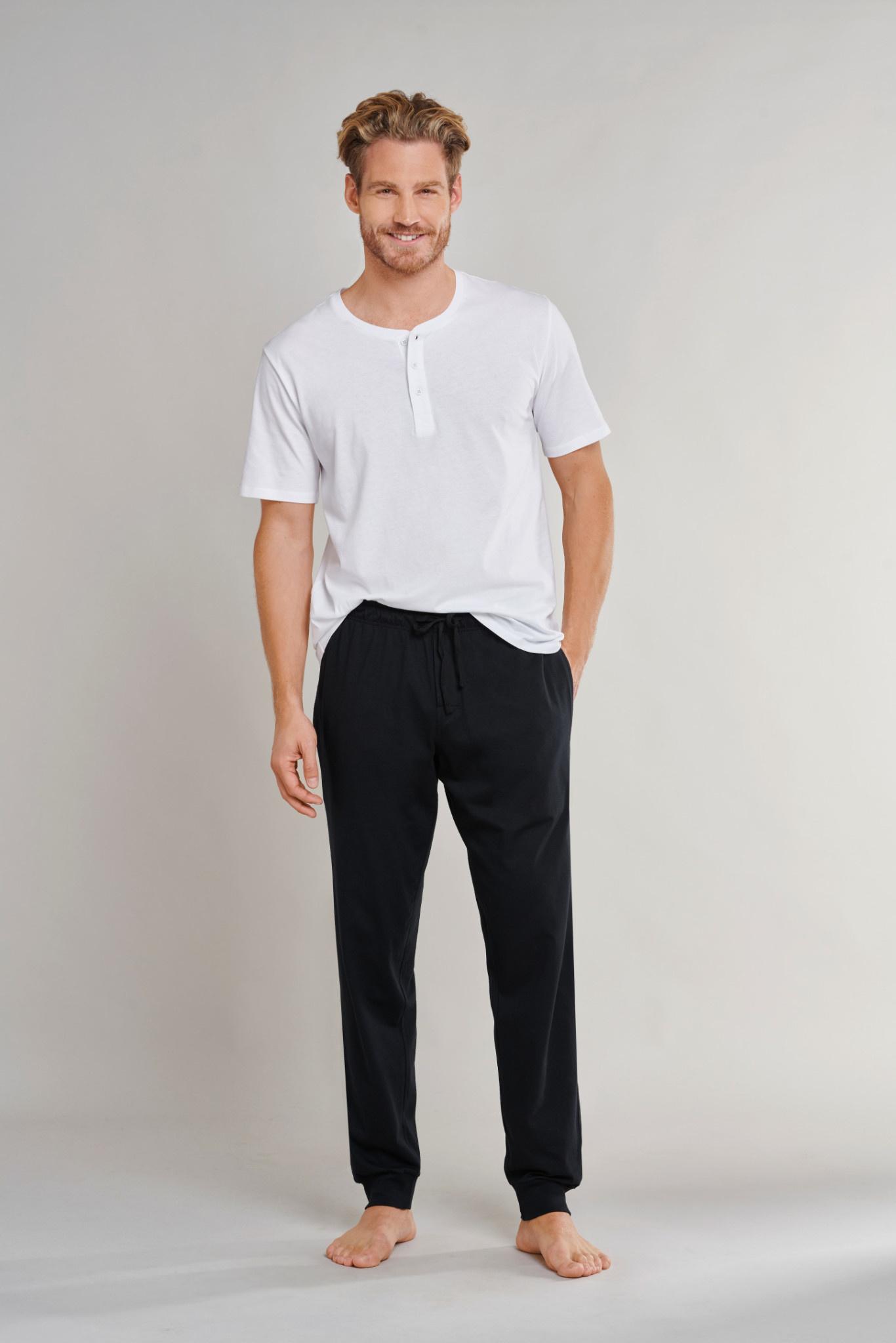 Pyjamabroek Mix & Match 163839 - zwart-3