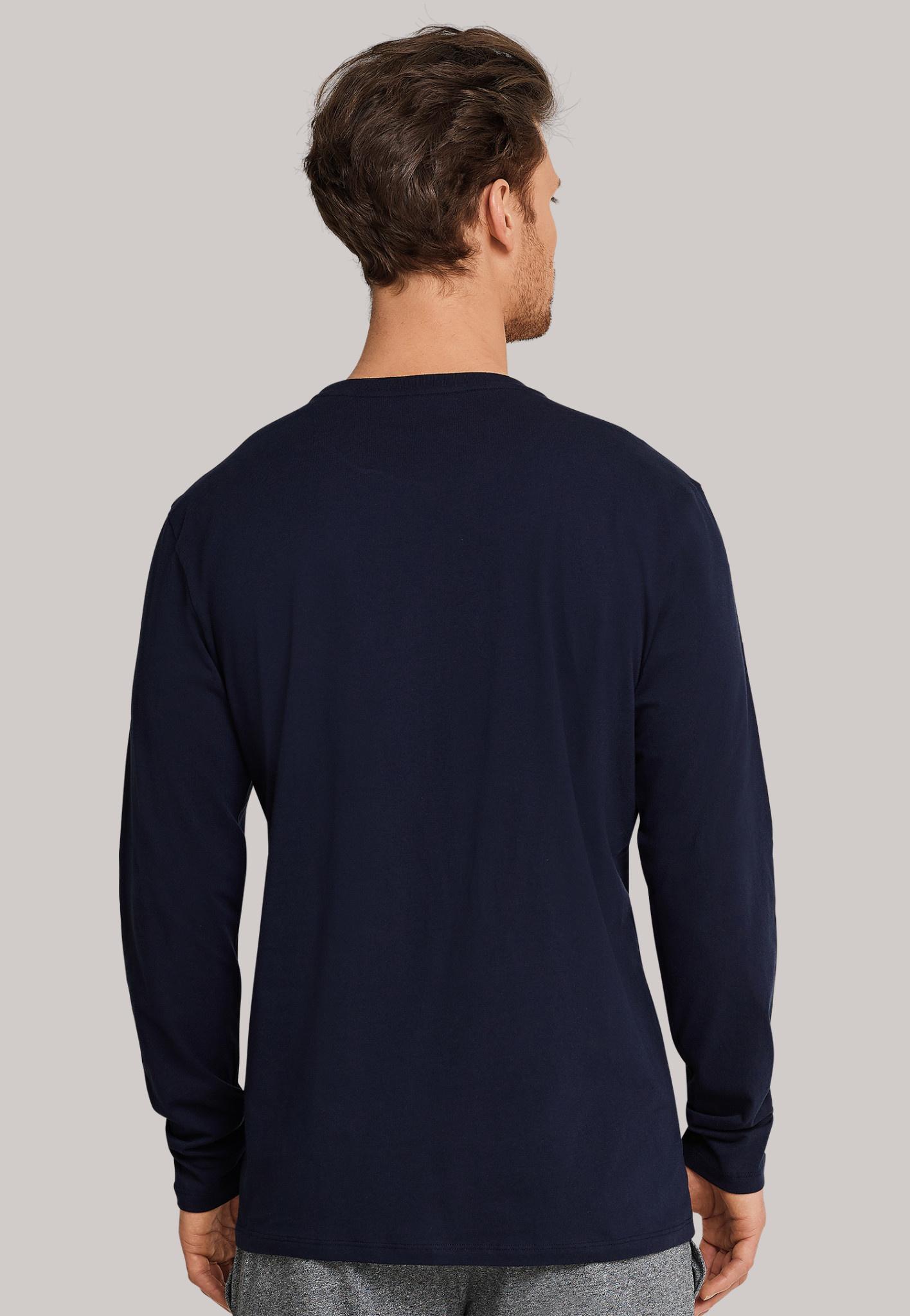 Shirt lange mouw Mix & Match 163835 - donkerblauw-2
