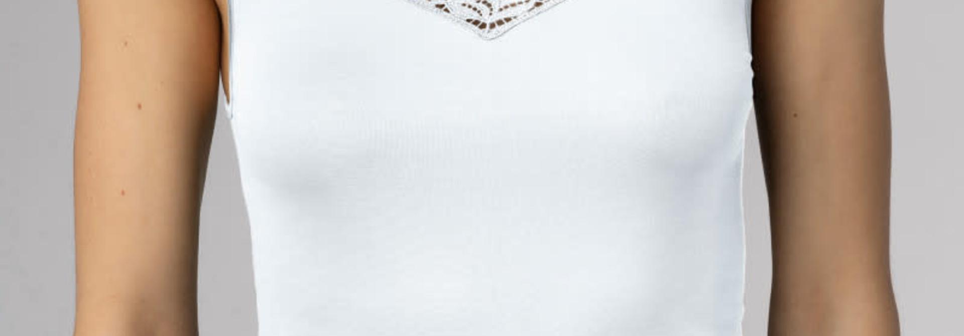 Hemd met kant Emotion Elegance 55362 - wit