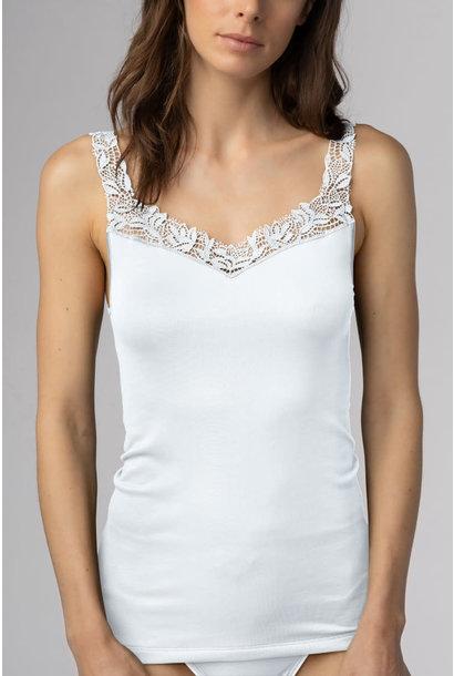 Hemd met kant Emotion Elegance 55362 - wit maat 38 & 42