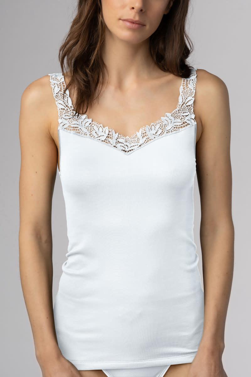 Hemd met kant Emotion Elegance 55362 - wit-1