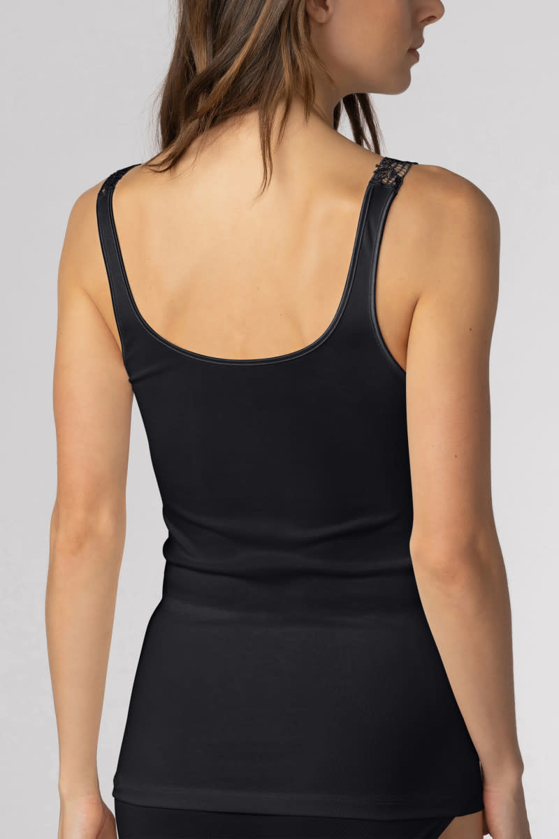 Hemd met kant Emotion Elegance 55362 - zwart-2