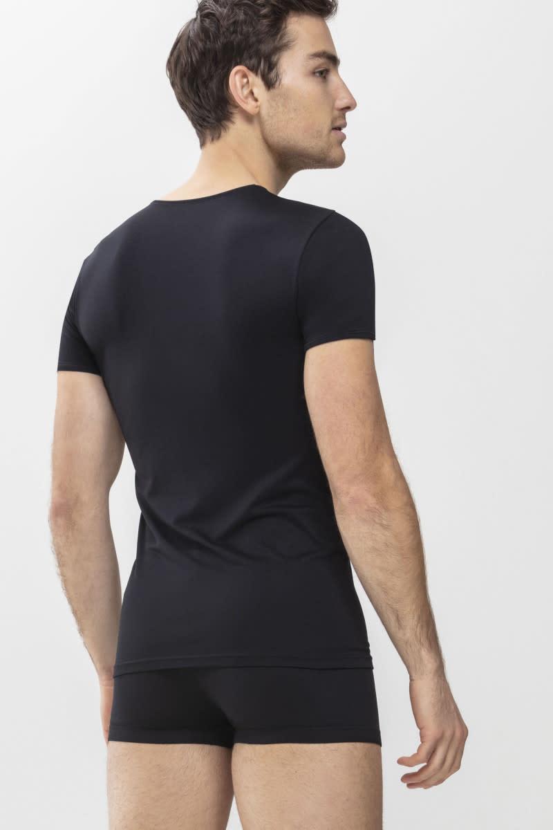 T-shirt v-hals Software 42507 - zwart-2