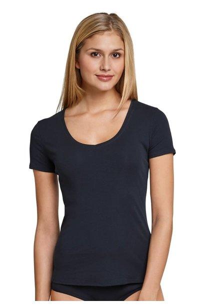 T-shirt korte mouw Naturschonheit 144097 - blauw mt. 42