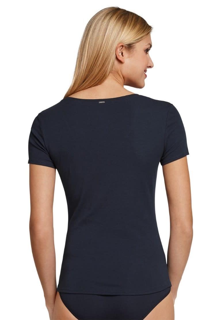 T-shirt korte mouw Naturschonheit 144097 - blauw mt. 42-2