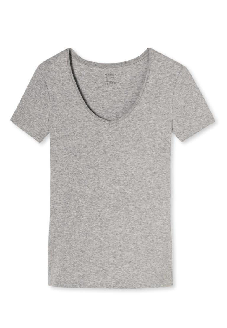 T-shirt korte mouw Naturschonheit 144097 - grijs mt. 36, 42-3