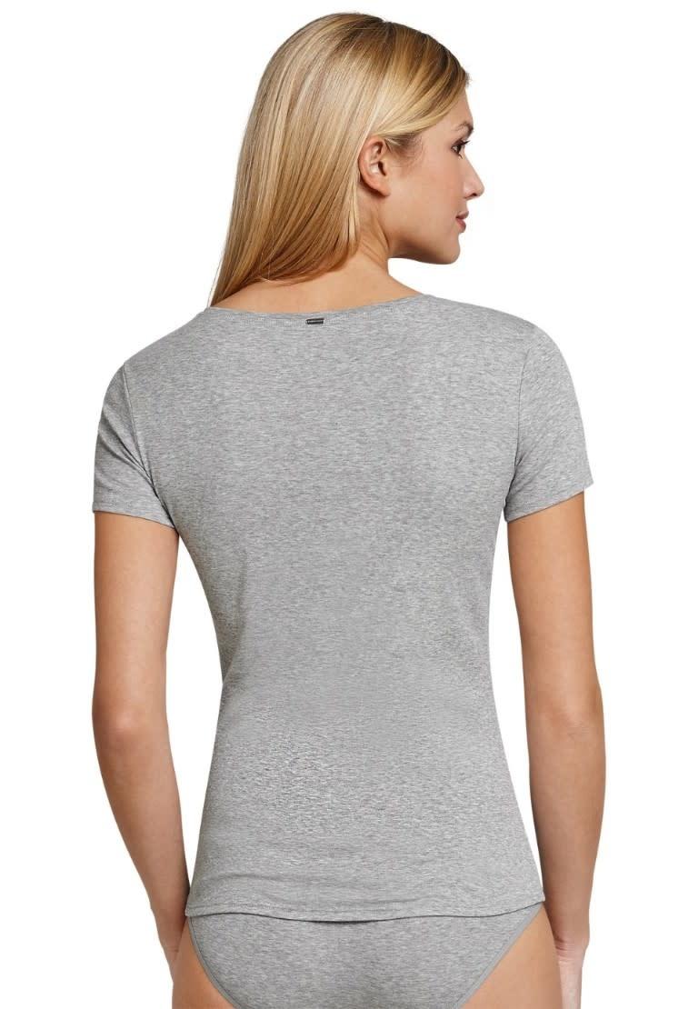 T-shirt korte mouw Naturschonheit 144097 - grijs mt. 36, 42-2