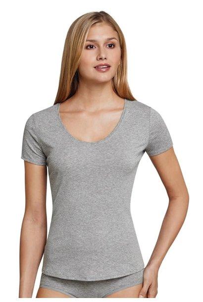 T-shirt korte mouw Naturschonheit 144097 - grijs mt. 36, 42