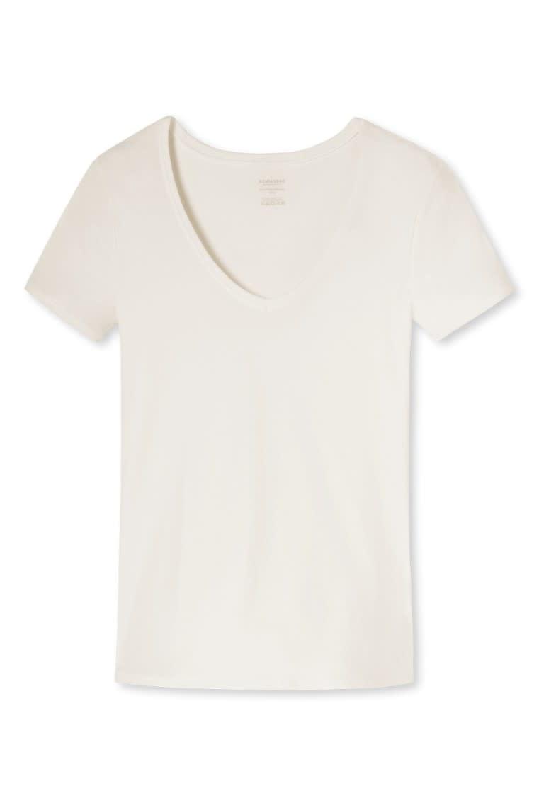T-shirt korte mouw Naturschonheit 144097 - vanille-3