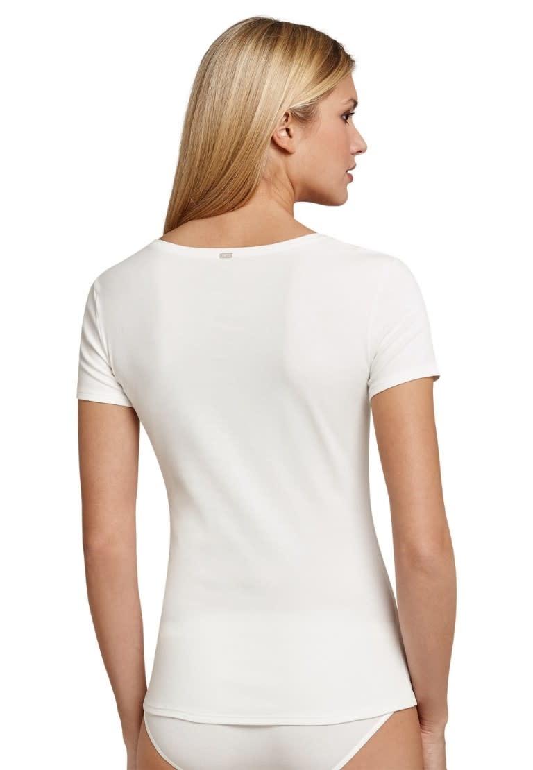 T-shirt korte mouw Naturschonheit 144097 - vanille-2
