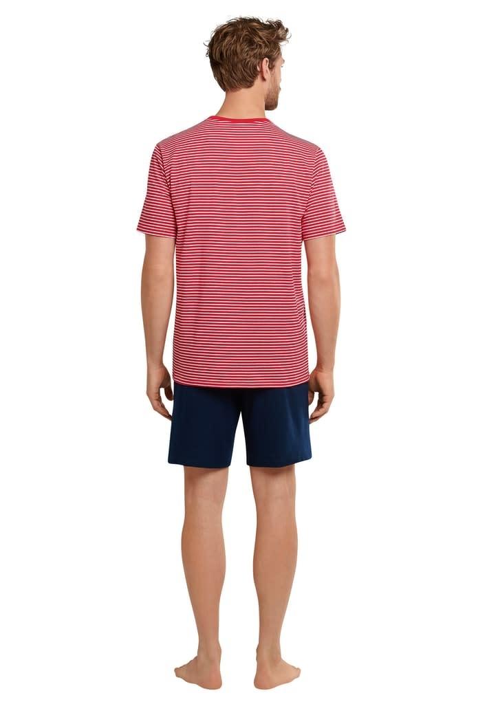 Pyjama korte mouw 173646 - rood-2