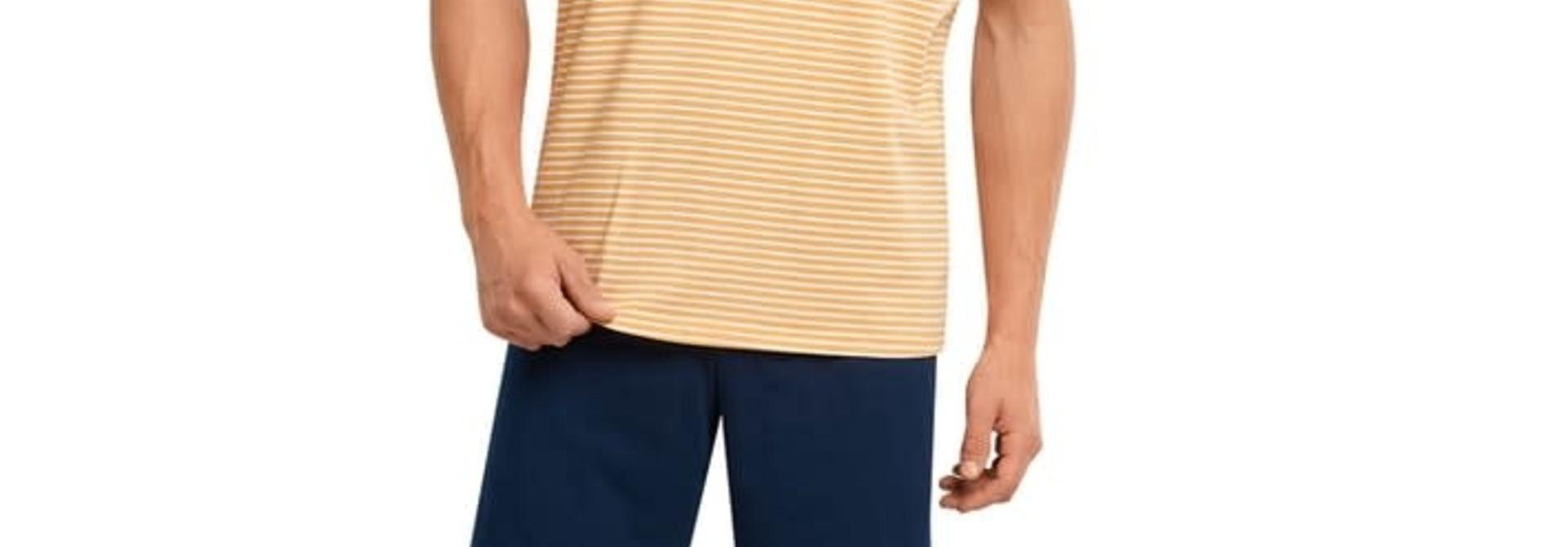 Pyjama korte mouw 173646 - geel