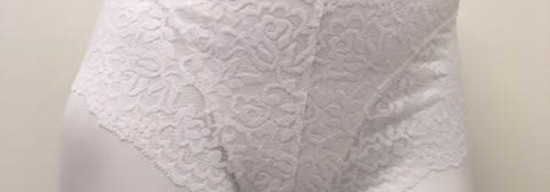 Slip met kant Maika 32078 - wit