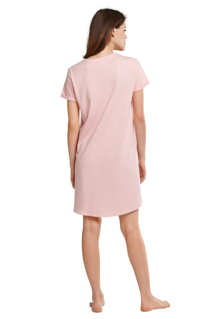 Nachthemd korte mouw 174668 - rosa-2