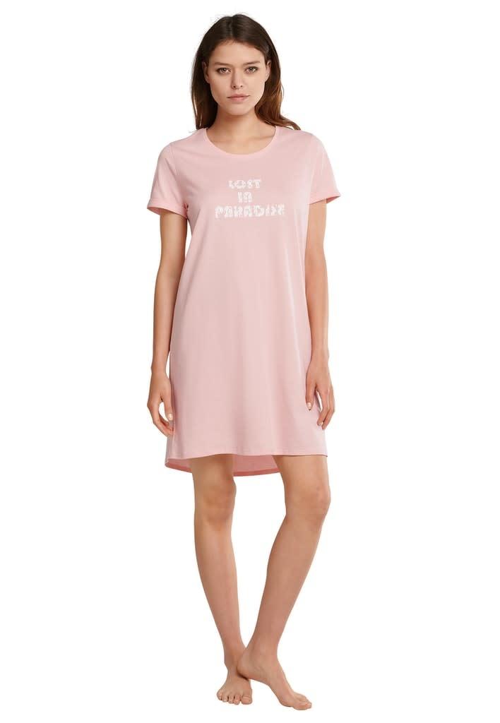 Nachthemd korte mouw 174668 - rosa-1